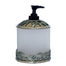 See Details - Bamboo Vanity Top Lg. Dispenser