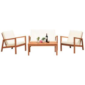 Larence 4 PC Living Set - Natural / Beige