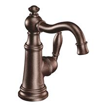 Weymouth oil rubbed bronze one-handle bathroom faucet