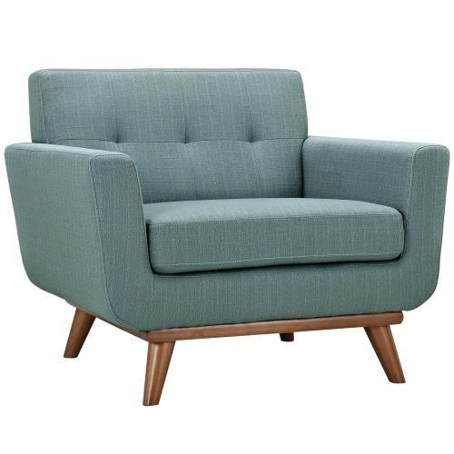 Modway - Engage Sofa Loveseat and Armchair Set of 3 in Laguna