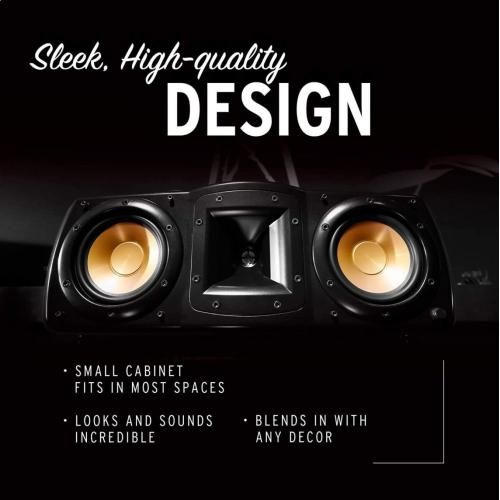 Synergy Black Label C-200 Center Channel Speaker  Klipsch