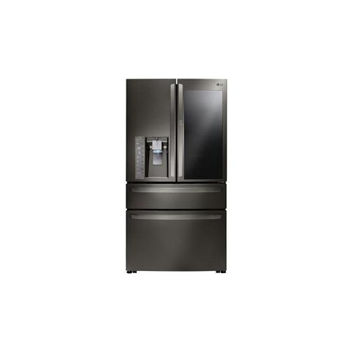 23 cu. ft. Smart wi-fi Enabled InstaView™ Door-in-Door® Counter-Depth Refrigerator