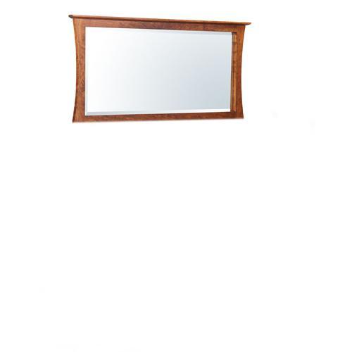 "Loft Bureau Mirror, 54 1/2""w, Cherry #28 Bourbon, Medium"
