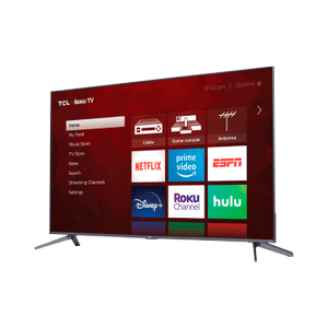 "TCL 55"" Class 5-Series 4K QLED Dolby Vision HDR Smart Roku TV - 55S535"