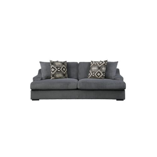 Sofa with 4 Pillows