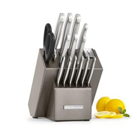 Architect® Series Classic Forged Cutlery 16 Piece Set - Cocoa Silver