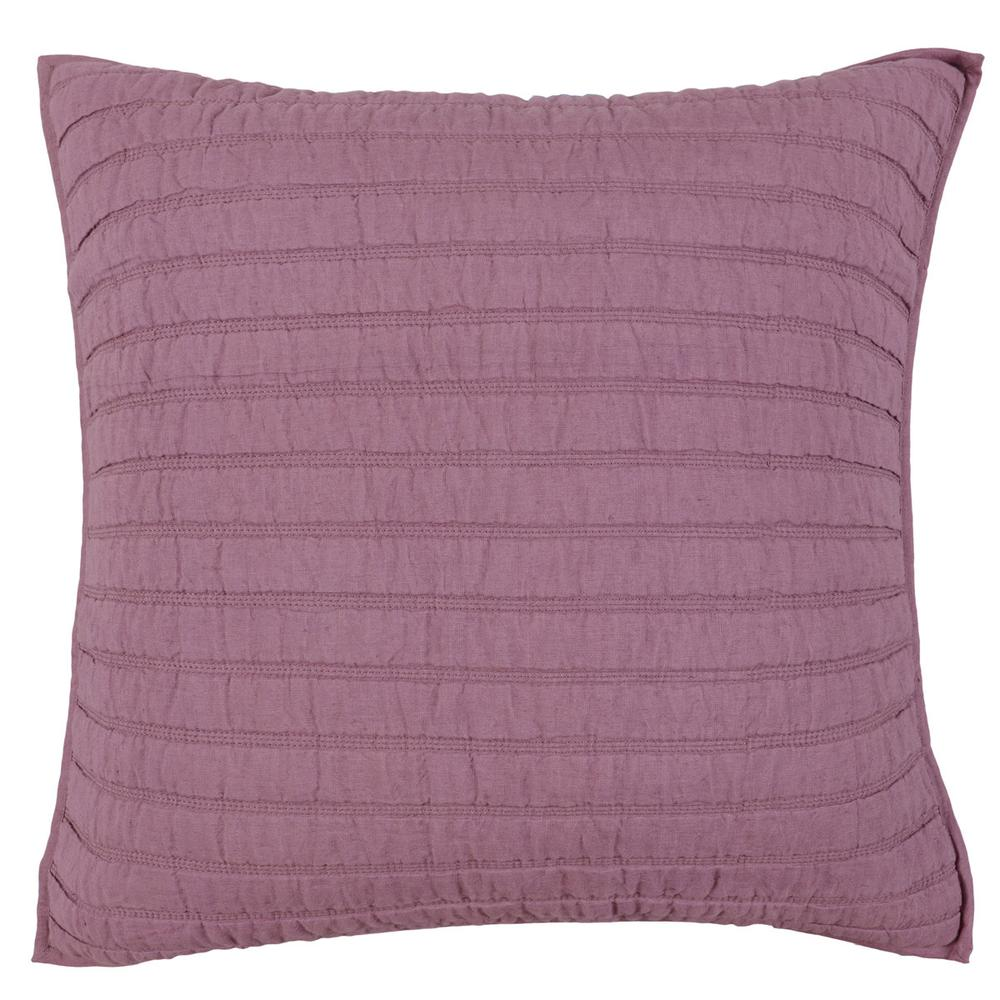 See Details - Heirloom Quilt Orchid Euro Sham 26x26