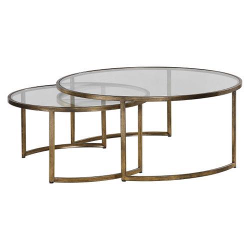 Rhea Nesting Coffee Tables, S/2