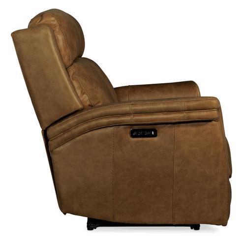 Poise Power Recliner Loveseat w/ Power Headrest