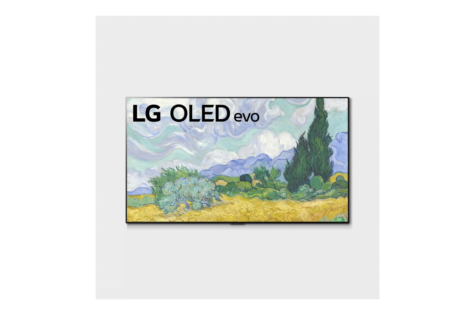 LG G1 55 inch Class with Gallery Design 4K Smart OLED evo TV w/AI ThinQ® (54.6'' Diag)