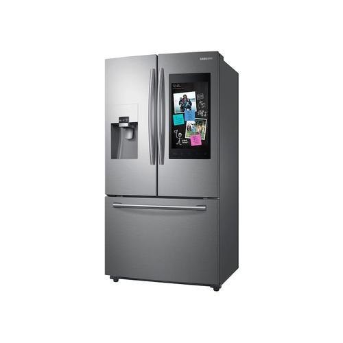24 cu. ft. Family Hub™ 3-Door French Door Refrigerator in Stainless Steel
