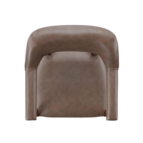 Tournament Arm Chair w/Casters - Brown