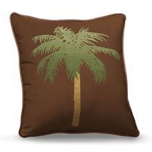 "20"" Square - Palm Tree"