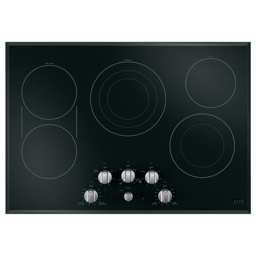 """Gallery - Café™ 30"""" Knob-Control Electric Cooktop"""