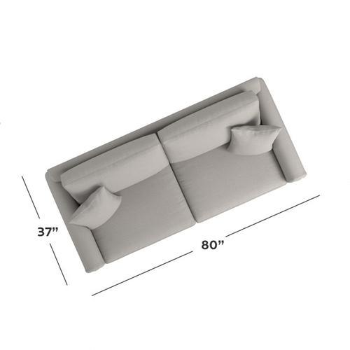 Bassett Furniture - Carolina Panel Arm Sofa