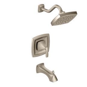 Voss brushed nickel moentrol® tub/shower