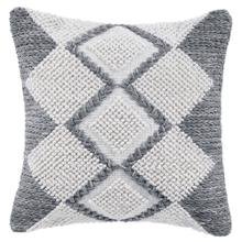 See Details - Retired Harlequin Pillow, GRAY, 22X22