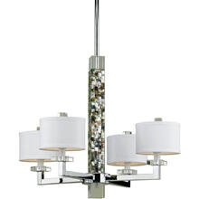 AF Lighting 7454 4-Light Chandelier, 7454-4H