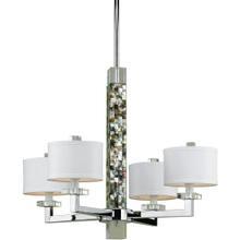 AF Lighting 7454 4-Light Chandelier, 7454-4H