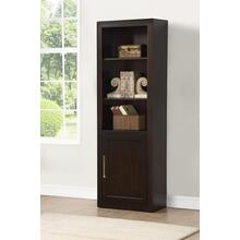 See Details - GREENWICH Bookcase with Door