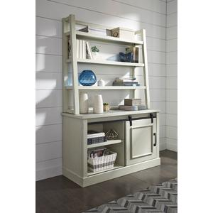 Jonileene Home Office Desk Hutch