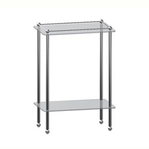 Kingston Freestanding, Traditional Two Tier Shelf Unit With Feet Product Image