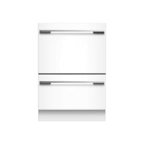 Fisher & Paykel - Tall Panel Ready Double DishDrawer Dishwasher incl full flex racking and water softener