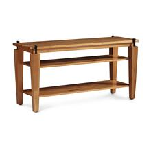 "B&O Railroade Spike Open TV Stand, 60""w"
