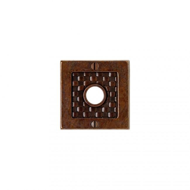 "Designer 3"" Square Bronze Dark Lustre with Branch"