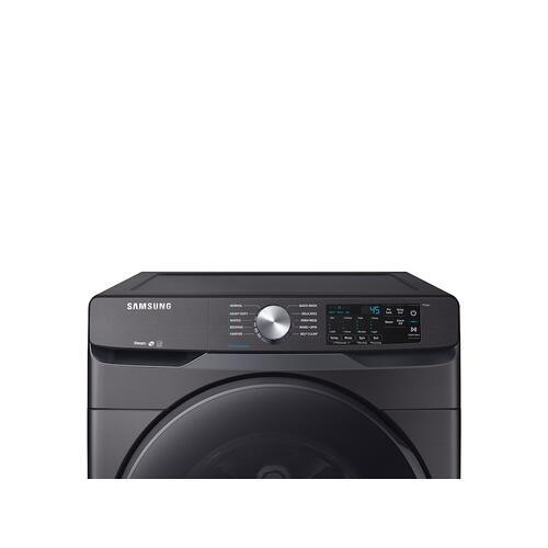 4.5 cu. ft. Front Load Washer with Steam in Black Stainless Steel