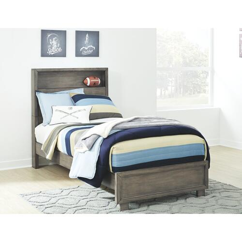 Arnett Full Bookcase Bed