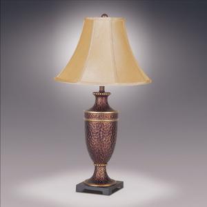 Crown Mark - Hammered Urm Lamp Wi