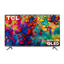 "TCL 55"" Class 6-Series 4K QLED Dolby Vision HDR Smart Roku TV - 55R635"