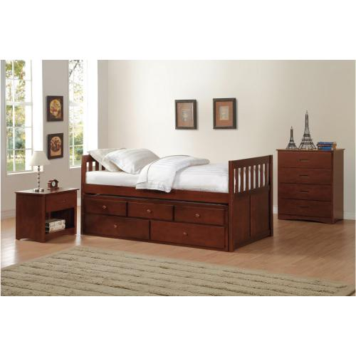 Twin/Twin Trundle Bed