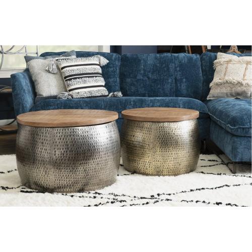 Dreyfus Gold Drum With Storage