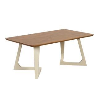 Double V-leg Coffee Table