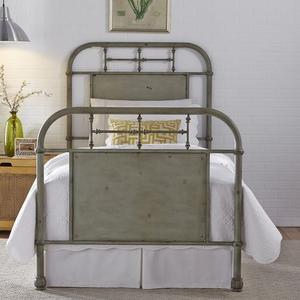 Liberty Furniture Industries - Twin Metal Bed - Green