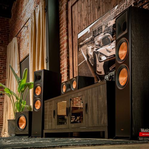 Klipsch - RP-500C Center Channel Speaker - Walnut