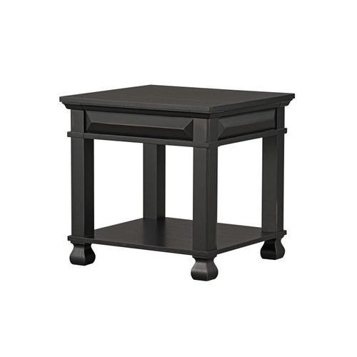 Standard Furniture - Passages End Table, Vintage Black