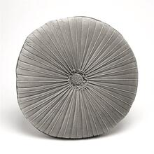 Van Dyke Round Pillow-Grey