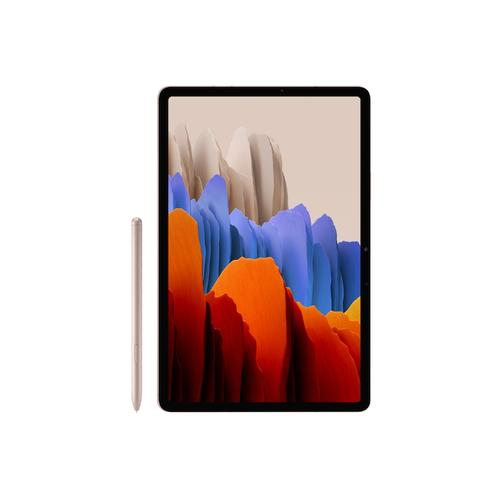 Galaxy Tab S7 Bookcover - Bronze