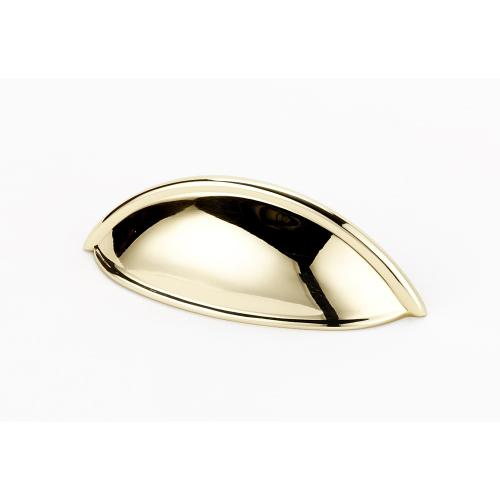 Cup Pulls A1355 - Polished Brass