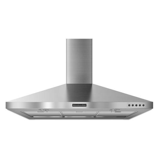 KitchenAid - Stainless Steel KitchenAid® 36'' Wall-Mount 400 CFM Canopy Hood, Architect® Series II