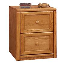 Contemporary 2 Drawer File Cabinet