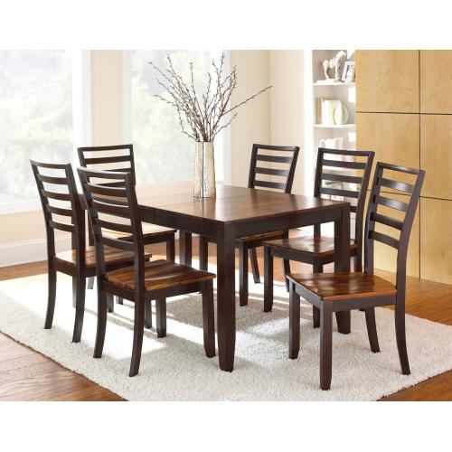 """Gallery - Abaco 48-60 inch Dining Table w/12""""Butterfly Leaf"""