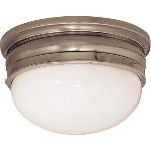 Visual Comfort CHC4202AN E. F. Chapman Crown 2 Light 12 inch Antique Nickel Flush Mount Ceiling Light