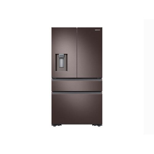 23 cu. ft. Counter Depth 4-Door French Door Refrigerator in Tuscan Stainless Steel