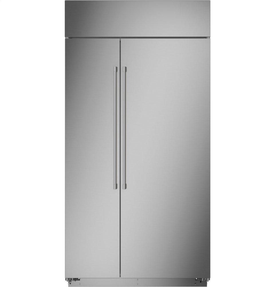 "MonogramMonogram 42"" Smart Built-In Side-By-Side Refrigerator"