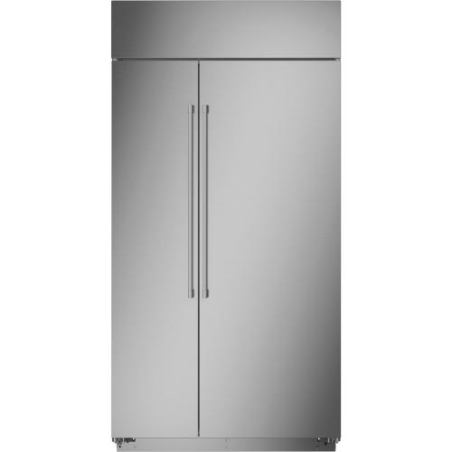 "Monogram 42"" Smart Built-In Side-by-Side Refrigerator"