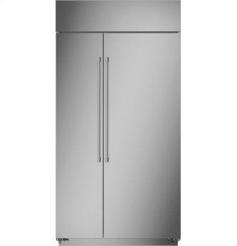 "Monogram 42"" Smart Built-In Side-by-Side Refrigerator"